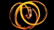 Fire show at ANU Earth House 2013 (Photo by Colleen Petch/Canberra Times)